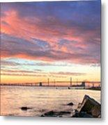 Chesapeake Mornings  Metal Print by JC Findley