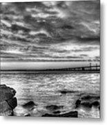 Chesapeake Splendor Bw Metal Print by JC Findley