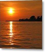 Chesapeake Sun Metal Print