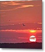Chesapeake Sunset 1 Metal Print