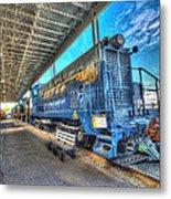 Chesapeake Western Baldwin Ds-4-4-660 No 662 Metal Print