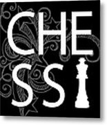 Chess The Game Of Kings Metal Print by Daniel Hagerman