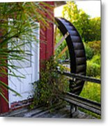 Chester County's Kimberton Mill Metal Print