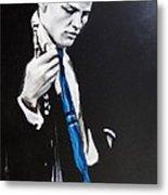 Chet Baker - Almost Blue Metal Print