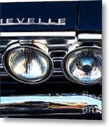 Chevelle Headlight Metal Print