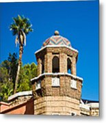 Cheveron Domed Tower 1 Metal Print