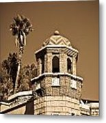 Cheveron Domed Tower 2 Metal Print