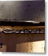 Chevrolet 3 Metal Print
