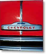 Chevrolet 3100 1953 Pickup Metal Print by Tim Gainey