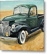 Chevrolet Art Deco Truck Metal Print