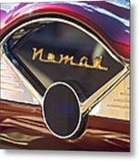Chevrolet Belair Nomad Dashboard Metal Print