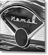 Chevrolet Belair Nomad Dashboard Emblem Metal Print