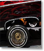 Chevrolet Caprice Lowrider - 5d20241 Metal Print by Wingsdomain Art and Photography