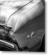 Chevrolet Chevelle Ss Grille Emblems Metal Print