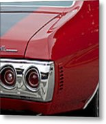 Chevrolet Chevelle Ss Taillight Emblem 3 Metal Print