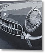 Chevrolet Corvette 1954 Metal Print