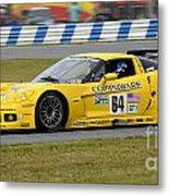 Chevrolet Corvette C6 Race Car Metal Print