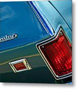 Chevrolet El Camino Taillight Emblem Metal Print