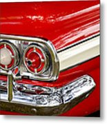 Chevrolet Impala Classic Rear View Metal Print