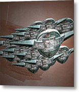 Chevrolet Metal Print