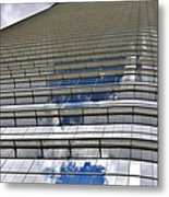 Chevron Corporation Houston Tx Metal Print by Christine Till