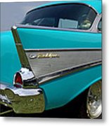 Chevy 1957 Bel Air Metal Print
