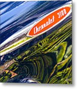Chevy 3100 Pickup Metal Print