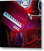 Chevy 3100 Metal Print