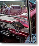 Chevy Bel Air Dash Metal Print