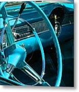 Chevy Bel Air Interior  II Metal Print