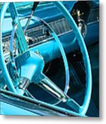 Chevy Bel Air Interior  Metal Print
