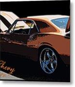 Chevy Camaro 67 Metal Print