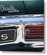 Chevy Chevelle Malibu Super Sport Metal Print