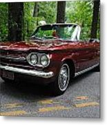 Chevy Corvair Metal Print