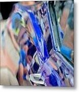 Chevy In Blue Metal Print