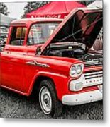 Chevy Stock Metal Print
