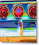 Chevy Tailights 1958 Metal Print