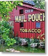 Chew Mail Pouch Tobacco  Metal Print