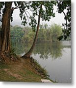 Chiang Mai University Lake Metal Print