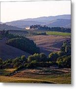 Chianti Hills In Tuscany Metal Print by Mathew Lodge