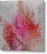 Chicago 2 Metal Print by Soumya Bouchachi