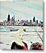 Chicago 2008 Metal Print