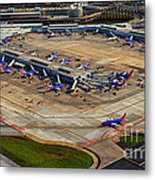 Chicago Airplanes 03 Metal Print