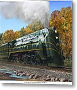 Chicago And North Western Class E-4 Metal Print
