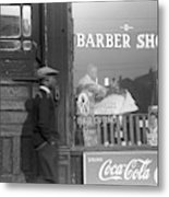 Chicago Barber Shop, 1941 Metal Print