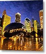 Chicago Night Metal Print