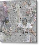 Chicago Bears Legends Metal Print