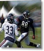 Chicago Bears Te Dante Rosario Training Camp 2014 03 Metal Print