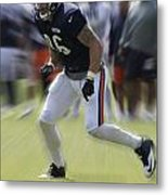 Chicago Bears Te Zach Miller Training Camp 2014 03 Metal Print