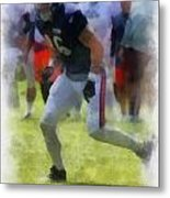Chicago Bears Te Zach Miller Training Camp 2014 Pa 01 Metal Print